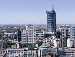 Warsaw Spire w Warszawie